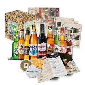 Geschenkideen für Männer - Platz-1_Bier Geschenk Set mit auslaendischen Bieren