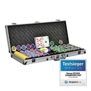 Geschenkideen bis 30 Euro - Platz-6_Pokerkoffer Pokerset 500