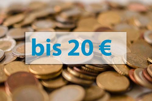 Geschenkideen bis 20 Euro
