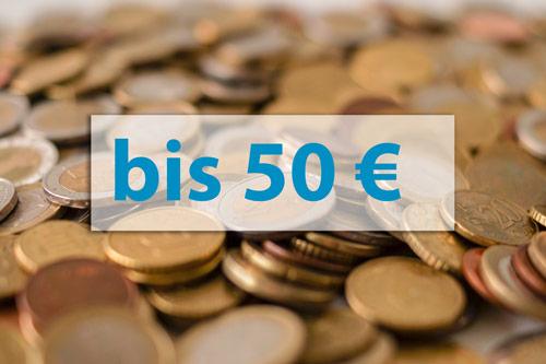 Geschenkideen bis 50 Euro