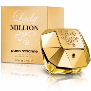 Geschenkideen für Frauen - Platz-10 Paco Rabanne Lady Million femme