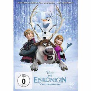 Geschenkideen für Mädchen - Platz-1_Die Eiskönigin - Völlig Unverfroren DVD