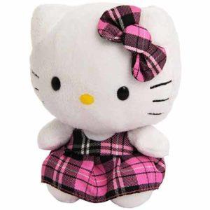 Geschenkideen für Mädchen - Platz-9_TY 40819 - Hello Kitty Baby-Schottenrock pink