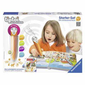 Geschenkideen für Mädchen - Platz-2_Ravensburger 00507 - tiptoi Starter-Set
